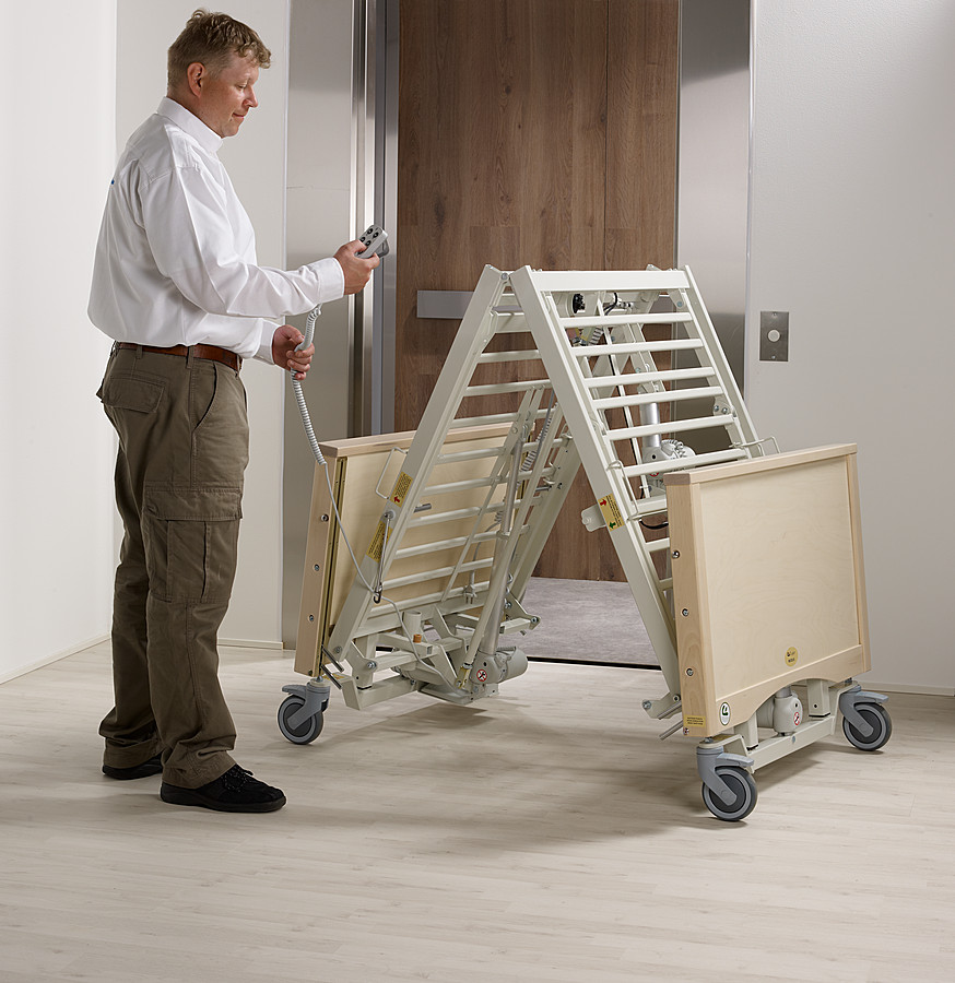 Folding Care Bed Modux