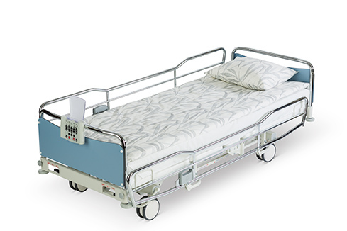 ScanAfia X ICU hospital bed straight position