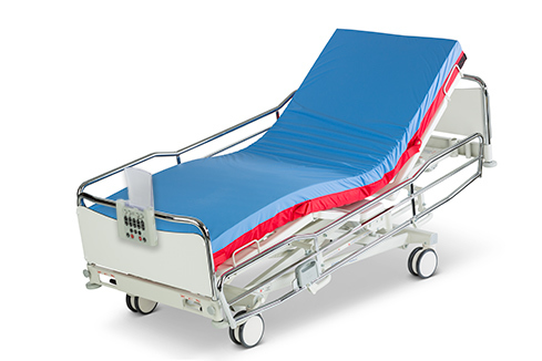 ScanAfia X ICU hospital bed with rescue mattress