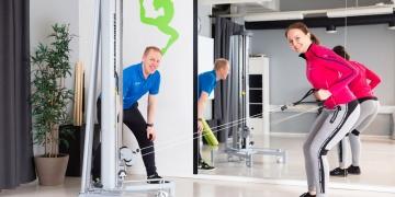 Lojer Speed Pulleys: Upper limb exercises