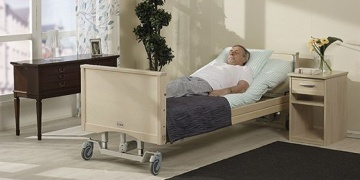 Rental beds to home hospitals for terminal care patients in Helsinki
