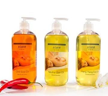 Massageöle und Creme