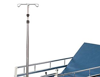 Furniture-Mounted IV Poles